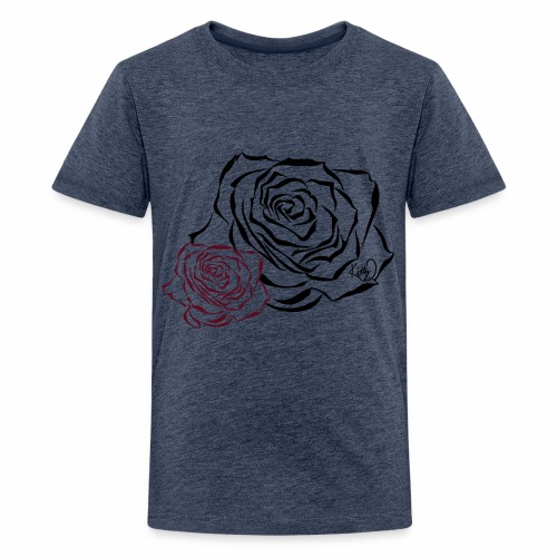 Double Rose - Kids' Premium T-Shirt