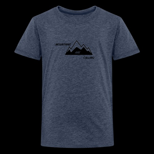 Mountain Design - Kids' Premium T-Shirt