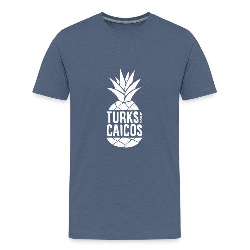 Turks and Caicos Pineapple - Kids' Premium T-Shirt