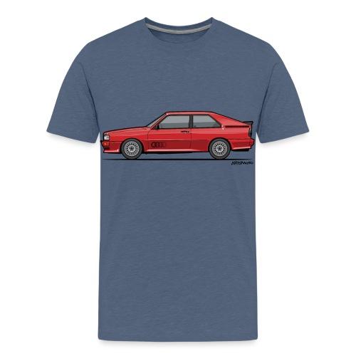 four rings b2 red quattro - Kids' Premium T-Shirt