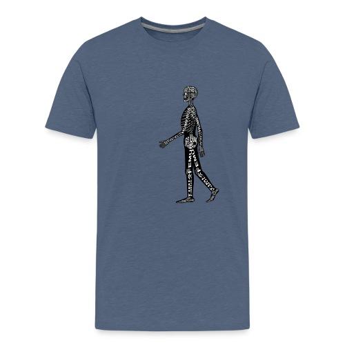 Skeleton Human - Kids' Premium T-Shirt