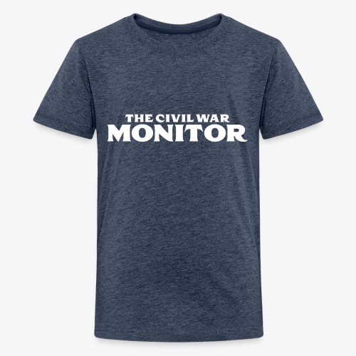 CWM LOGO WHITE - Kids' Premium T-Shirt