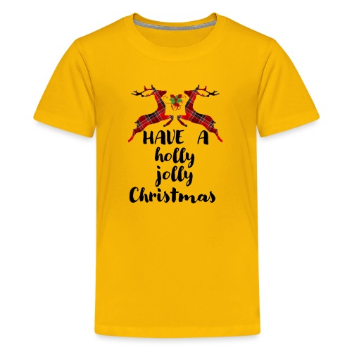 Holly Jolly Christmas - Kids' Premium T-Shirt