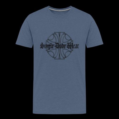 SDW maltese old letters dude - Kids' Premium T-Shirt