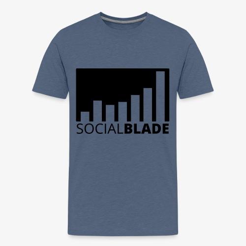 SB Blackout Logo - Kids' Premium T-Shirt
