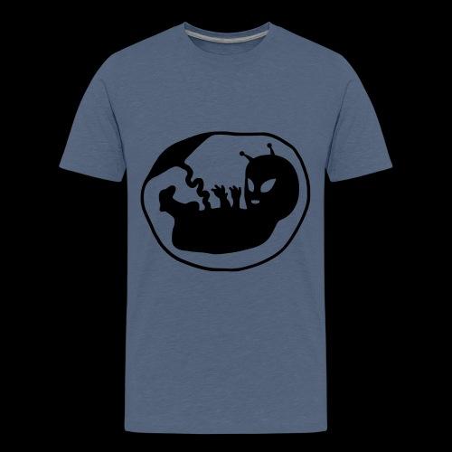 Alien Fetus by bmx3r - Kids' Premium T-Shirt