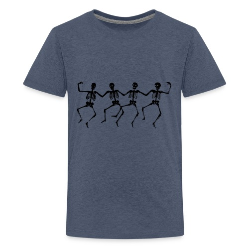 Dancing Skeletons - Kids' Premium T-Shirt
