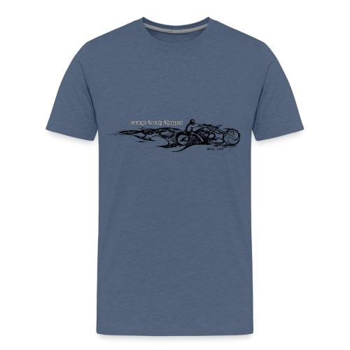 Sketch Rider Front - Kids' Premium T-Shirt