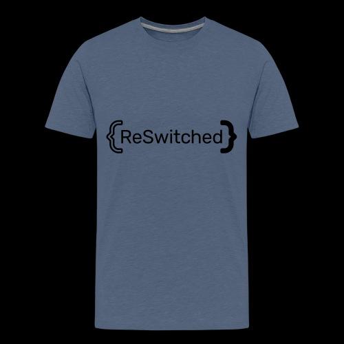 full black reswitched bmx3r - Kids' Premium T-Shirt
