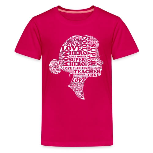 Mother Definition, Teacher Mom, Great Teacher Mom - Kids' Premium T-Shirt