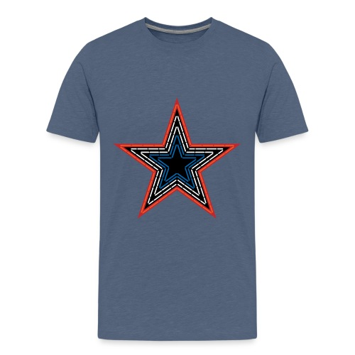 Roanoke Virginia Pride Mill Mountain Star - Kids' Premium T-Shirt