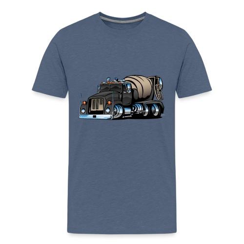 Cement Mixer Truck - Kids' Premium T-Shirt