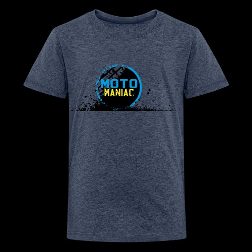 MotoManiac's tracks - Kids' Premium T-Shirt