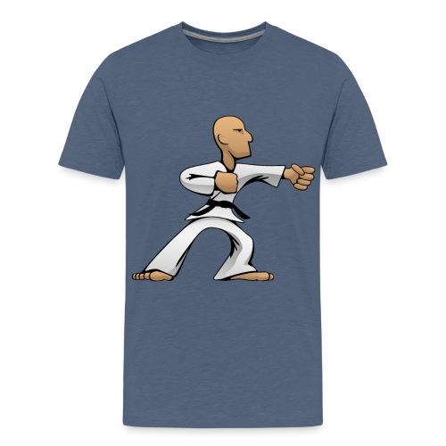 Martial Arts Dude - Kids' Premium T-Shirt
