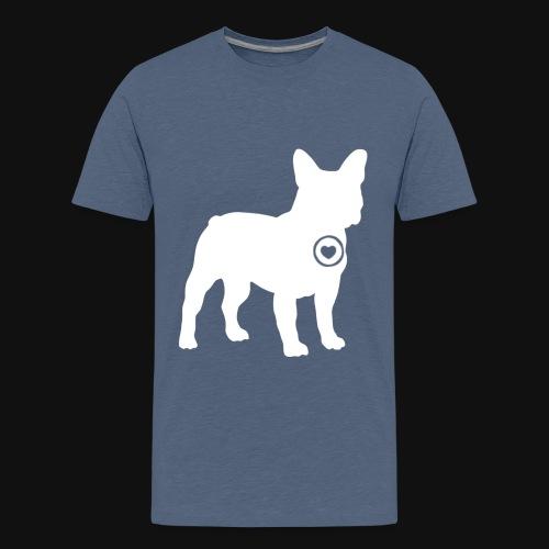 Frenchie love - Kids' Premium T-Shirt