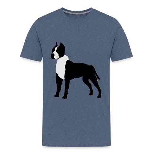 Pitbull Vector - Kids' Premium T-Shirt