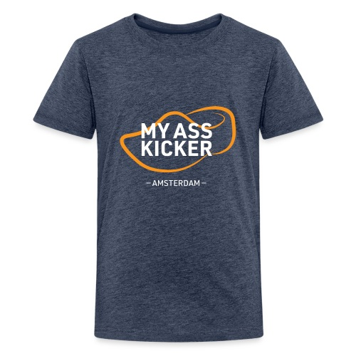 MY ASS KICKER - Kids' Premium T-Shirt