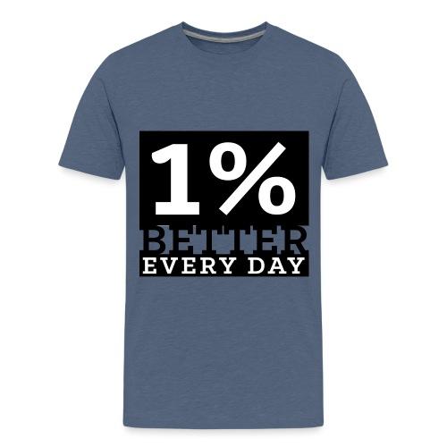 OPBED_Shirt 5_white - Kids' Premium T-Shirt