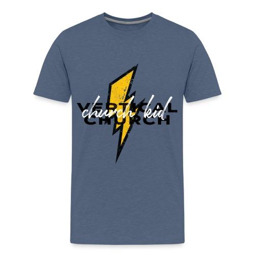 Vertical Church Kids: Church Kid - Kids' Premium T-Shirt