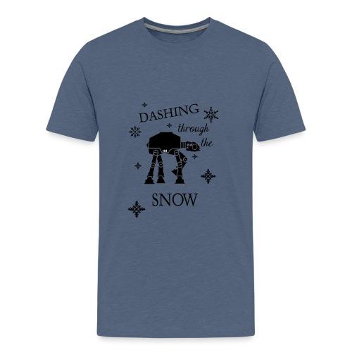 Dashing through the Snow AT-AT Walker - Kids' Premium T-Shirt