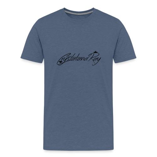 Crystal and Ray logo - Kids' Premium T-Shirt