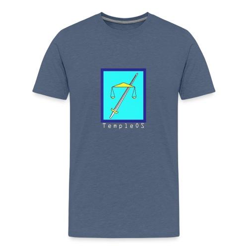 TempleOS temple - Kids' Premium T-Shirt