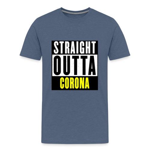 Straight Outta Corona - Kids' Premium T-Shirt