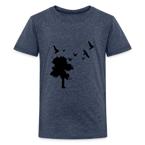 BIG trees & birds - Kids' Premium T-Shirt