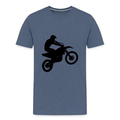 Motocross Dirt biker - Kids' Premium T-Shirt