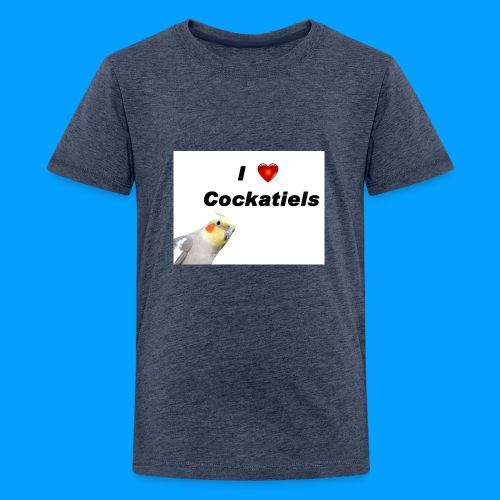 Cockatiels - Kids' Premium T-Shirt