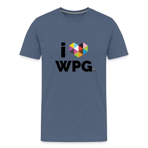 I heart WPG - Kids' Premium T-Shirt