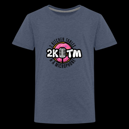 Two Kitchen Tables & A Microphone - Kids' Premium T-Shirt