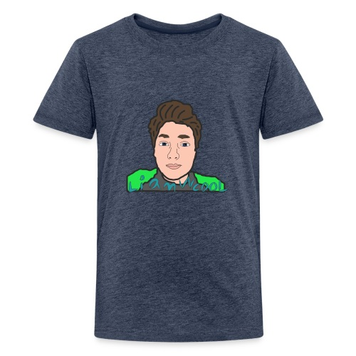 LiamWcool head tee - Kids' Premium T-Shirt