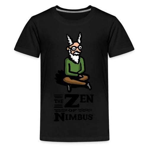 The Zen of Nimbus t-shirt / Nimbus color with logo - Kids' Premium T-Shirt