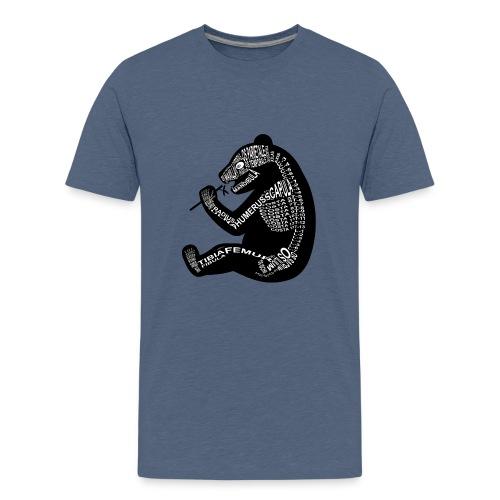 Skeleton Panda - Kids' Premium T-Shirt