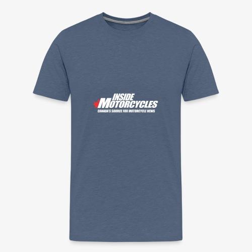 Inside Motorcycle - White - Kids' Premium T-Shirt