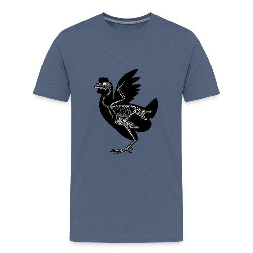 Skeleton Chicken - Kids' Premium T-Shirt