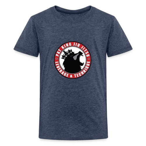 PK Merch grey22 - Kids' Premium T-Shirt