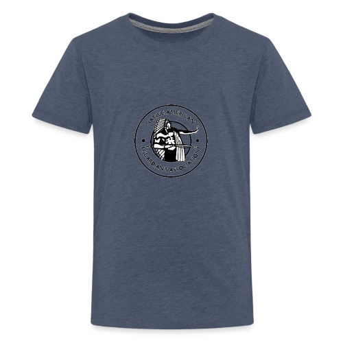Naga LOGO Outlined - Kids' Premium T-Shirt