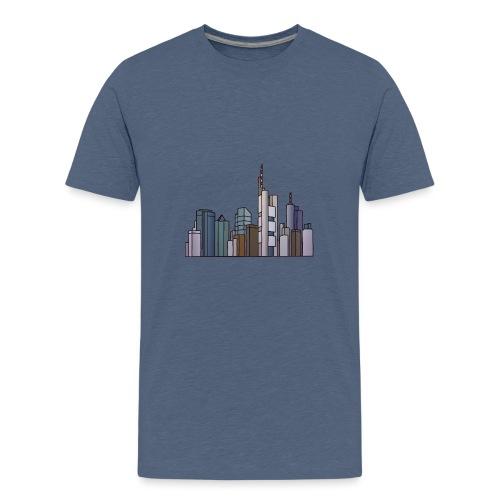 Frankfurt skyline - Kids' Premium T-Shirt