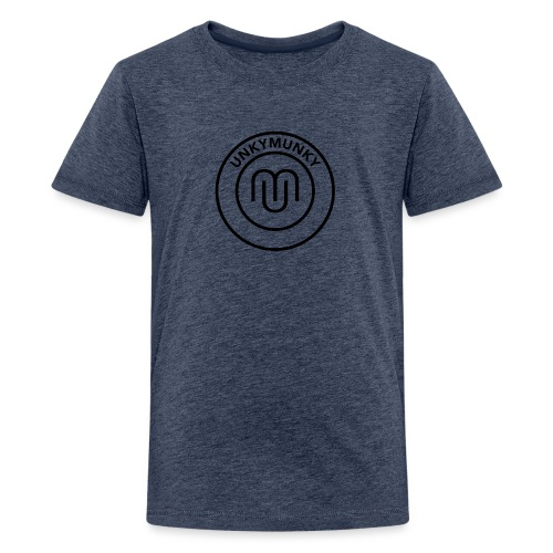 UnkyMunky Logo black - Kids' Premium T-Shirt