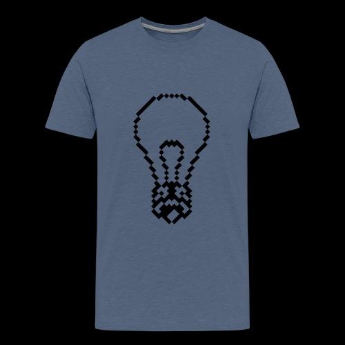 lightbulb by bmx3r - Kids' Premium T-Shirt