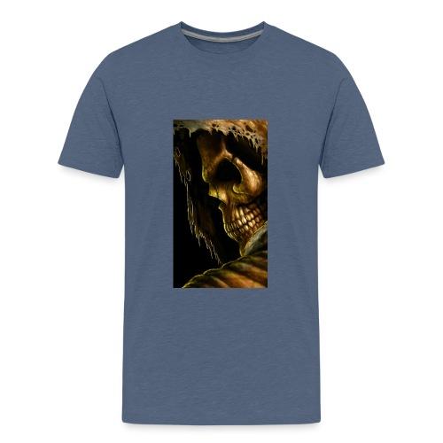 99798 skull 498 - Kids' Premium T-Shirt