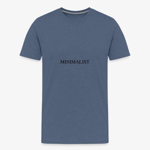 Minimalist Simple Desing - Kids' Premium T-Shirt
