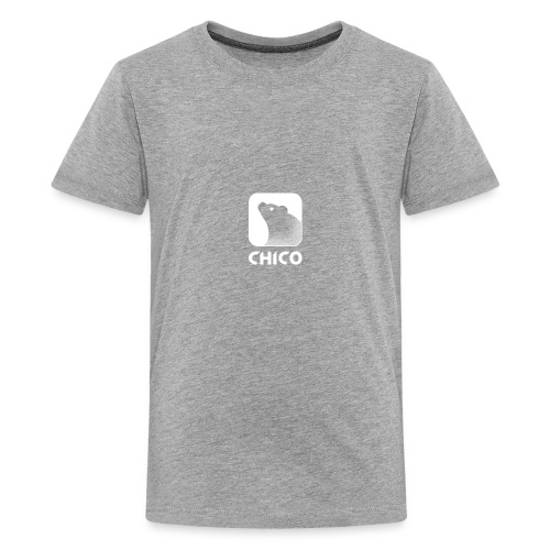 Chico's Logo with Name - Kids' Premium T-Shirt