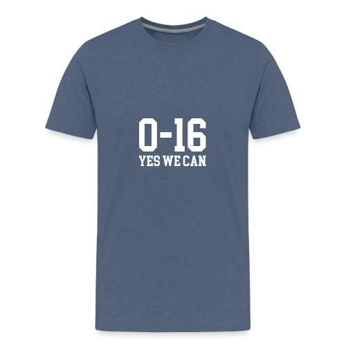 Detroit Lions 0 16 Yes We Can - Kids' Premium T-Shirt