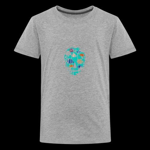 Underwater Skull - Kids' Premium T-Shirt