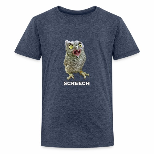 Screech Owl Patient at WildCare - Kids' Premium T-Shirt