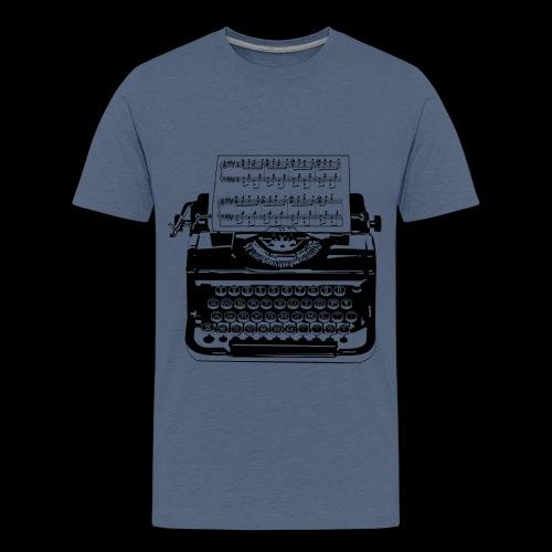 Music Type   Vintage Typewriter - Kids' Premium T-Shirt
