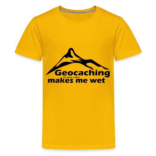 Wet Geocaching - Kids' Premium T-Shirt